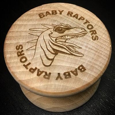 Baby Raptors Wooden Raptor Yo-Yo